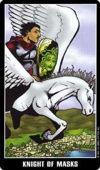 Knight of Ghosts Tarot Card - Fradella Tarot Deck