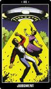 Judgement Tarot card in Fradella Tarot deck