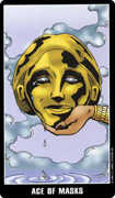 Ace of Cups Tarot card in Fradella Tarot deck