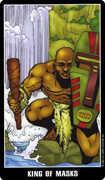 King of Cups Tarot card in Fradella Tarot deck