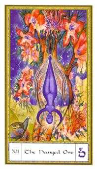 The Hanged Man Tarot Card - Gendron Tarot Deck