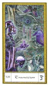 Death Tarot Card - Gendron Tarot Deck