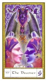 The Devil Tarot Card - Gendron Tarot Deck