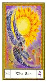 The Sun Tarot Card - Gendron Tarot Deck