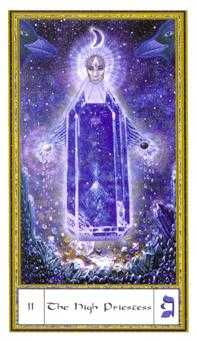 The High Priestess Tarot Card - Gendron Tarot Deck