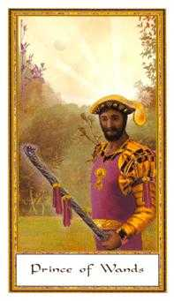 Warrior of Sceptres Tarot Card - Gendron Tarot Deck