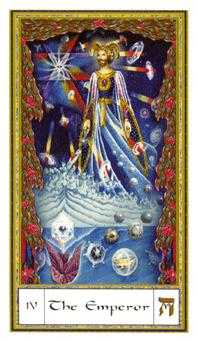 The Emperor Tarot Card - Gendron Tarot Deck