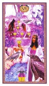 Six of Cups Tarot Card - Gendron Tarot Deck