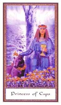 Princess of Hearts Tarot Card - Gendron Tarot Deck