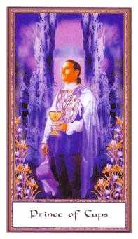 Prince of Hearts Tarot Card - Gendron Tarot Deck