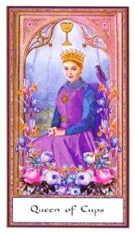 Queen of Bowls Tarot Card - Gendron Tarot Deck