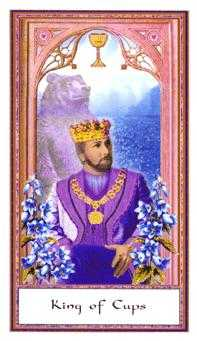 King of Hearts Tarot Card - Gendron Tarot Deck