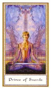 Prince of Swords Tarot Card - Gendron Tarot Deck