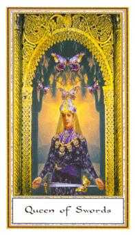 Queen of Swords Tarot Card - Gendron Tarot Deck