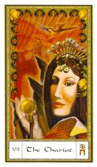 The Chariot Tarot Card - Gendron Tarot Deck