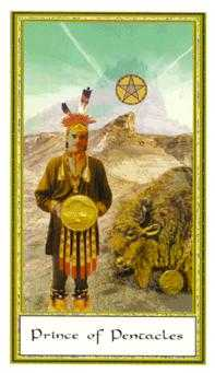 Prince of Pentacles Tarot Card - Gendron Tarot Deck