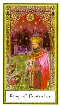 King of Rings Tarot Card - Gendron Tarot Deck