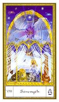 Strength Tarot Card - Gendron Tarot Deck