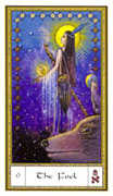 The Fool Tarot card in Gendron Tarot deck