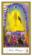 The Magician Tarot card in Gendron deck