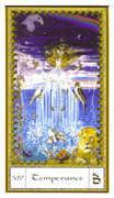 Temperance Tarot card in Gendron Tarot deck