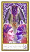 The Devil Tarot card in Gendron Tarot deck