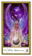 The World Tarot card in Gendron Tarot deck