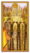Seven of Wands Tarot card in Gendron Tarot deck