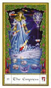 The Empress Tarot card in Gendron deck