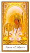 Queen of Wands Tarot card in Gendron Tarot deck