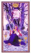 Four of Cups Tarot card in Gendron Tarot deck
