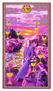 Eight of Cups Tarot card in Gendron Tarot deck