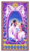 Ten of Cups Tarot card in Gendron Tarot deck