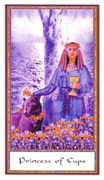 Page of Cups Tarot card in Gendron deck