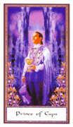 Prince of Cups Tarot card in Gendron Tarot deck