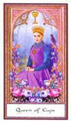 Queen of Cups Tarot card in Gendron Tarot deck