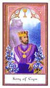 King of Cups Tarot card in Gendron Tarot deck