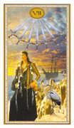 Seven of Swords Tarot card in Gendron Tarot deck