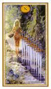 Ten of Swords Tarot card in Gendron Tarot deck