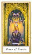 Queen of Swords Tarot card in Gendron Tarot deck