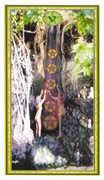 Five of Coins Tarot card in Gendron Tarot deck