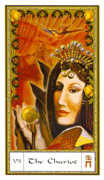 The Chariot Tarot card in Gendron Tarot deck