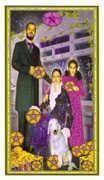 Ten of Coins Tarot card in Gendron Tarot deck