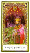 King of Coins Tarot card in Gendron deck