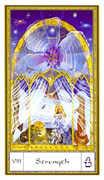 Strength Tarot card in Gendron Tarot deck