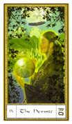 The Hermit Tarot card in Gendron Tarot deck