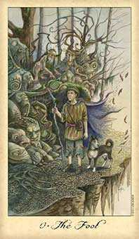 The Fool Tarot Card - Ghosts & Spirits Tarot Deck