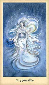 Justice Tarot Card - Ghosts & Spirits Tarot Deck