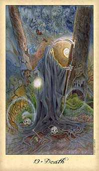 Death Tarot Card - Ghosts & Spirits Tarot Deck