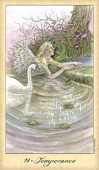 Temperance Tarot Card - Ghosts & Spirits Tarot Deck